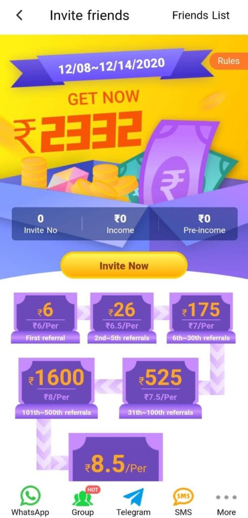 profitable referral and affiliate network on rozdhan that helps to make money easily in india by referring people to rozdhan and create a referral network to earn money passively from rozdhan