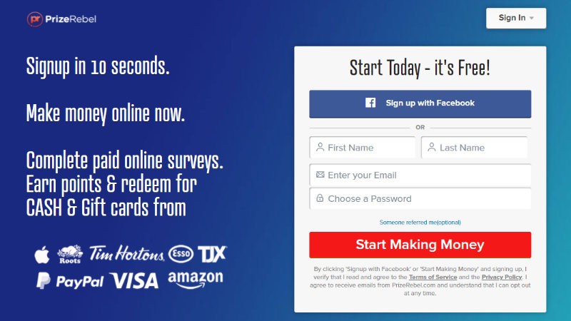prize-reblel-signup-page-to-earn-points-and-redeem-into-cash-and-gift-cards